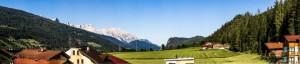Panorama-Dachstein
