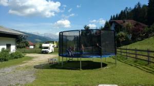 kellerbauer trampolin für groß und klein